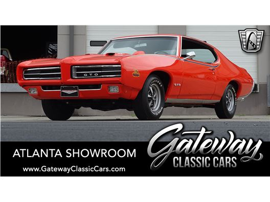 1969 Pontiac GTO for sale in Alpharetta, Georgia 30005