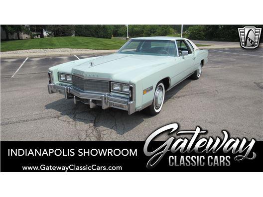 1977 Cadillac Eldorado for sale in Indianapolis, Indiana 46268