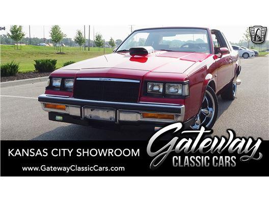1984 Buick Regal T Type for sale in Olathe, Kansas 66061