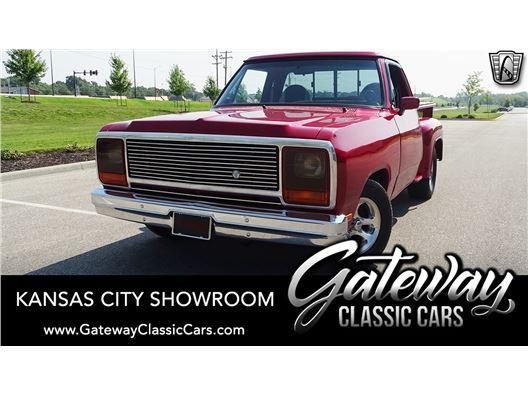 1984 Dodge D150 for sale in Olathe, Kansas 66061