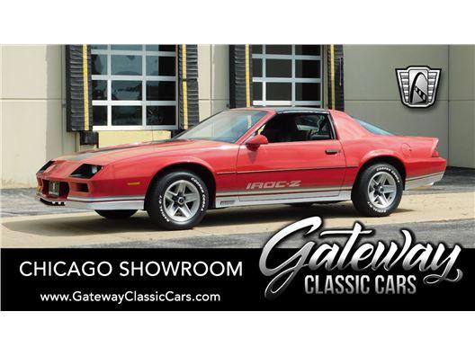 1984 Chevrolet Camaro for sale in Crete, Illinois 60417