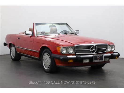 1986 Mercedes-Benz 560SL for sale in Los Angeles, California 90063
