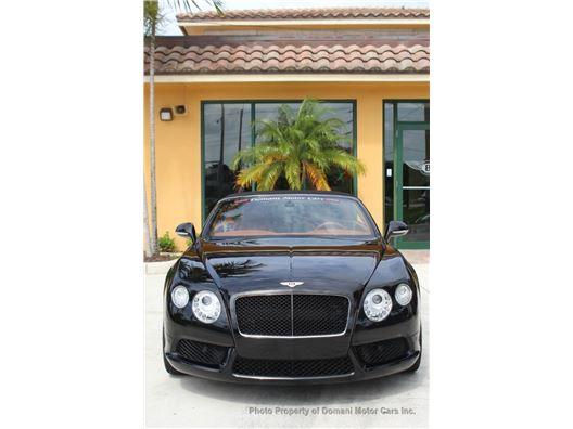 2013 Bentley Continental GT V8 for sale in Deerfield Beach, Florida 33441