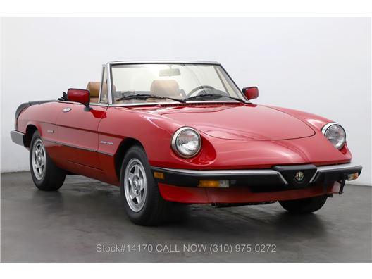 1989 Alfa Romeo Spider Veloce for sale in Los Angeles, California 90063