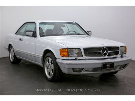 1989 Mercedes-Benz 560SEC for sale in Los Angeles, California 90063