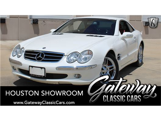 2003 Mercedes-Benz SL500 for sale in Houston, Texas 77090