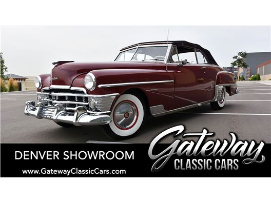 1950 Chrysler New Yorker for sale in Englewood, Colorado 80112
