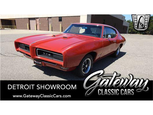 1968 Pontiac GTO for sale in Dearborn, Michigan 48120