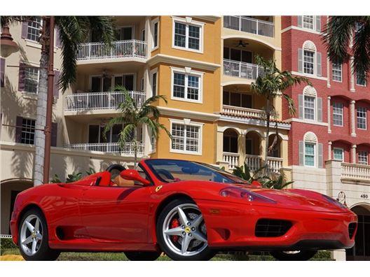2004 Ferrari 360 Spider for sale in Naples, Florida 34104