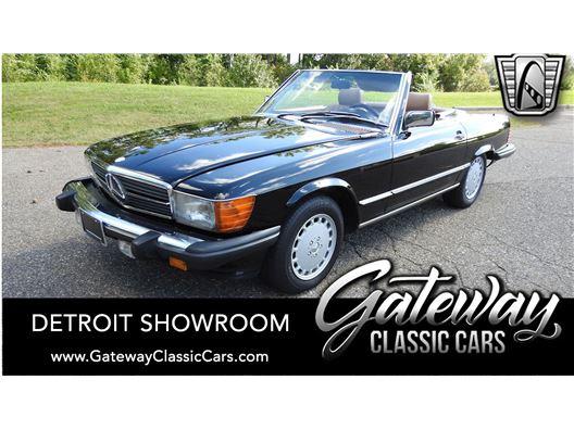 1986 Mercedes-Benz 560SL for sale in Dearborn, Michigan 48120