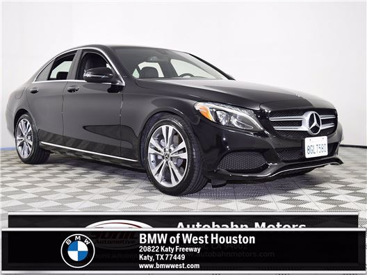 2018 Mercedes-Benz C-Class for sale in Houston, Texas 77079