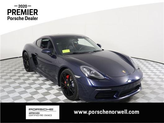 2018 Porsche 718 Cayman for sale in Norwell, Massachusetts 02061