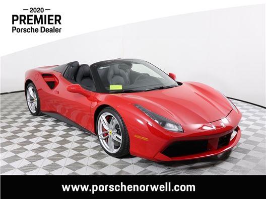 2018 Ferrari 488 Spider for sale in Norwell, Massachusetts 02061