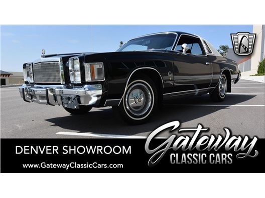 1978 Chrysler Cordoba for sale in Englewood, Colorado 80112
