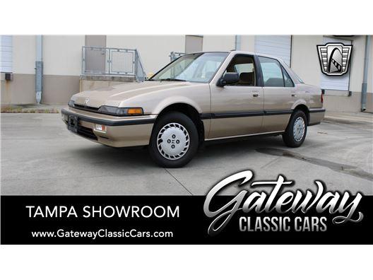 1989 Honda Accord for sale in Ruskin, Florida 33570