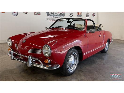 1968 Volkswagen Karmann Ghia for sale in Fairfield, California 94534