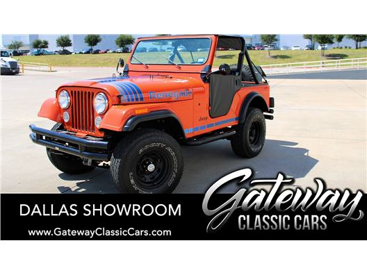 1980 Jeep CJ5 for sale in DFW Airport, Texas 76051