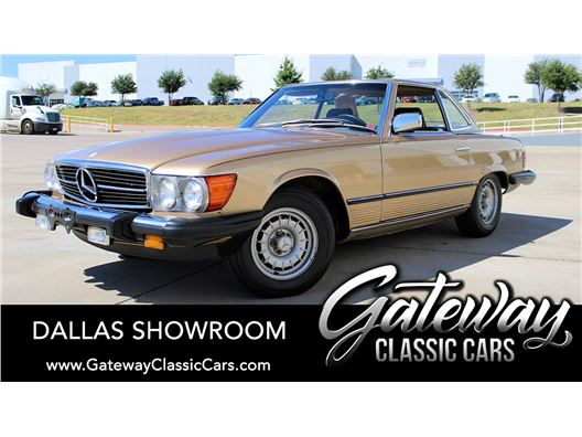1984 Mercedes-Benz 380SL for sale in DFW Airport, Texas 76051