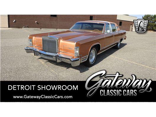 1978 Lincoln Continental for sale in Dearborn, Michigan 48120