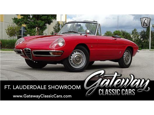 1967 Alfa Romeo Spider for sale in Coral Springs, Florida 33065