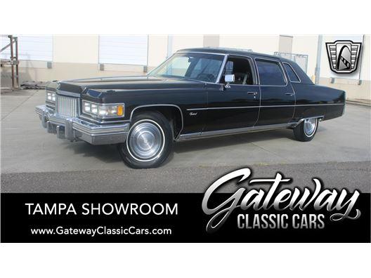 1975 Cadillac Fleetwood for sale in Ruskin, Florida 33570