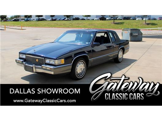 1989 Cadillac DeVille for sale in DFW Airport, Texas 76051