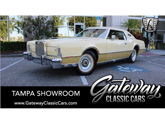 1976 Lincoln Continental Mark V for sale in Ruskin, Florida 33570