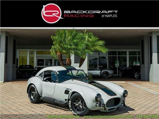 1965 Replica/Kit BackDraft Racing 427 Shelby Cobra Replica for sale in Naples, Florida 34104