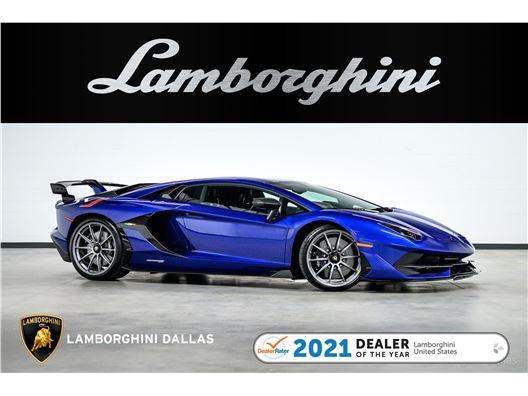 2020 Lamborghini Aventador SVJ for sale in Richardson, Texas 75080