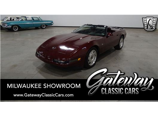 1993 Chevrolet Corvette for sale in Kenosha, Wisconsin 53144