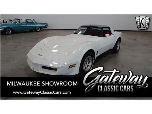 1981 Chevrolet Corvette for sale in Kenosha, Wisconsin 53144