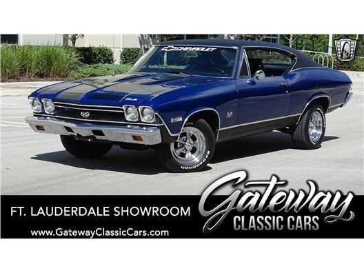 1968 Chevrolet Chevelle for sale in Coral Springs, Florida 33065