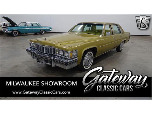 1977 Cadillac DeVille for sale in Kenosha, Wisconsin 53144