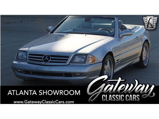 2001 Mercedes-Benz SL500 for sale in Alpharetta, Georgia 30005