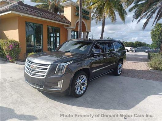 2016 Cadillac Escalade ESV for sale in Deerfield Beach, Florida 33441
