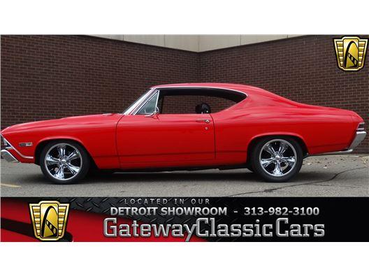 1968 Chevrolet Chevelle for sale in Dearborn, Michigan 48120