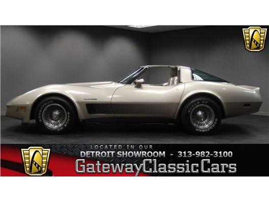 1982 Chevrolet Corvette for sale in Dearborn, Michigan 48120