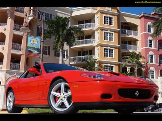 2002 Ferrari 575 for sale in Naples, Florida 34104