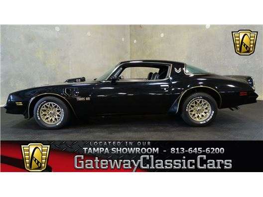 1978 Pontiac Trans Am for sale in Ruskin, Florida 33570
