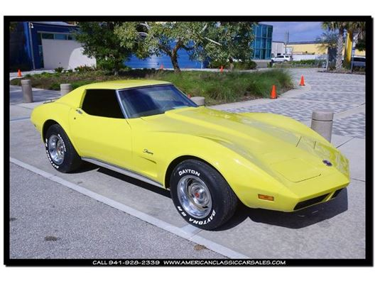 1974 Chevrolet Corvette for sale in Sarasota, Florida 34232