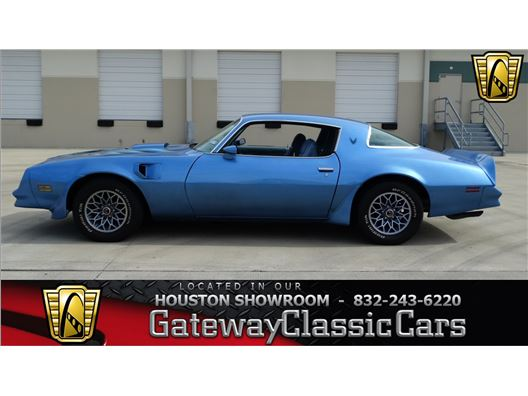 1978 Pontiac Trans Am for sale in Houston, Texas 77060