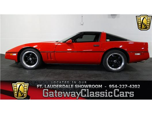 1986 Chevrolet Corvette for sale in Coral Springs, Florida 33065