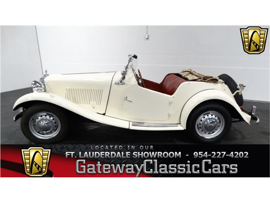 1953 MG TD for sale in Coral Springs, Florida 33065