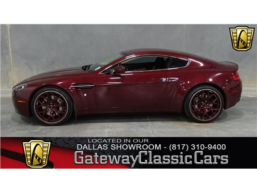 2008 Aston Martin V8 Vantage for sale in DFW AIRPORT, Texas 76051