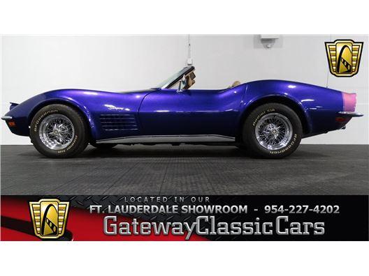 1970 Chevrolet Corvette for sale in Coral Springs, Florida 33065