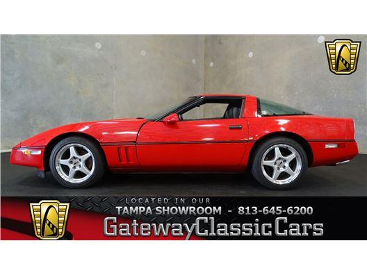1987 Chevrolet Corvette for sale in Ruskin, Florida 33570