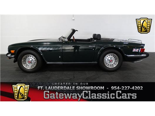 1976 Triumph TR 6 for sale in Coral Springs, Florida 33065