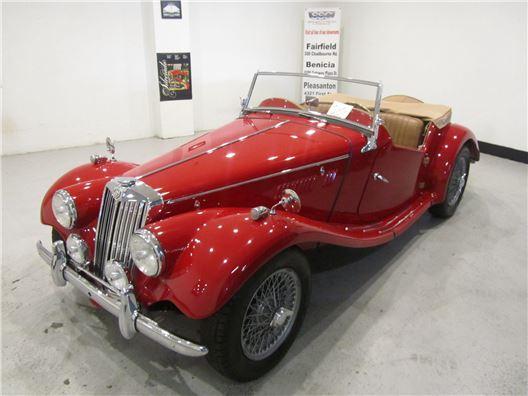 1954 MG TF for sale in Benicia, California 94510