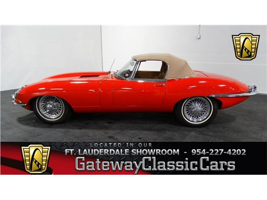 1962 Jaguar E-type for sale in Coral Springs, Florida 33065