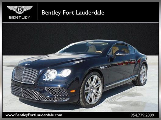 2016 Bentley Continental GT for sale in Fort Lauderdale, Florida 33304